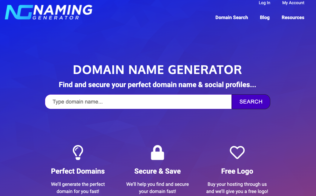 business name generator and availability checker