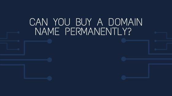 can you buy a domain name permanently blog banner