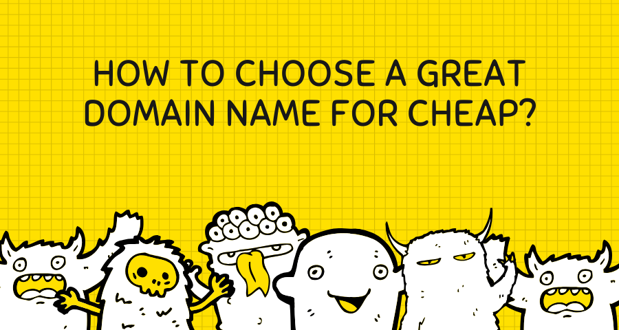 how to choose a great domain for cheap banner