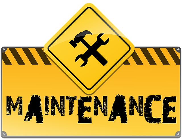 under maintenance image for site uptime