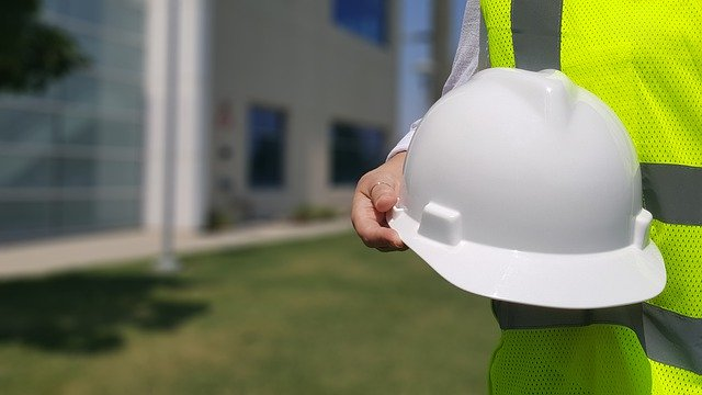 hard-hat in hand