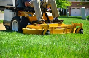 lawn-care-business-name-ideas-featured-image-of ride on lawn