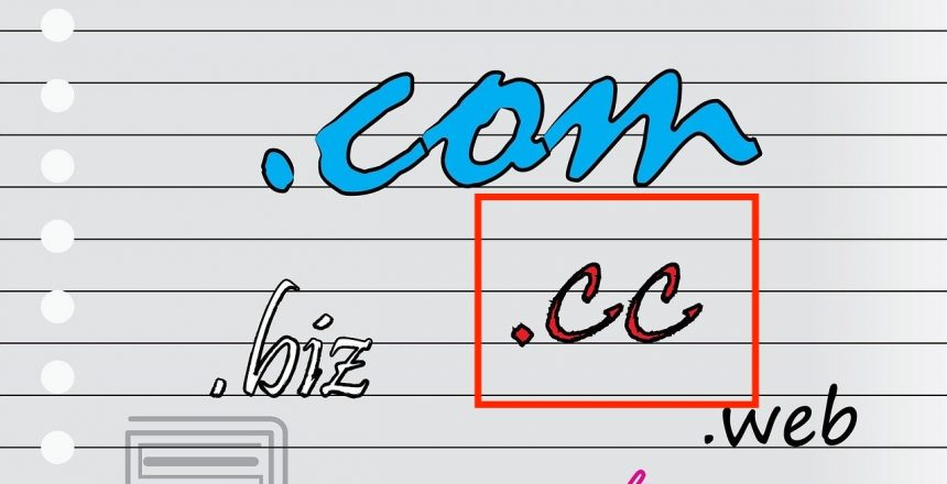 what are .cc domain extensions banner